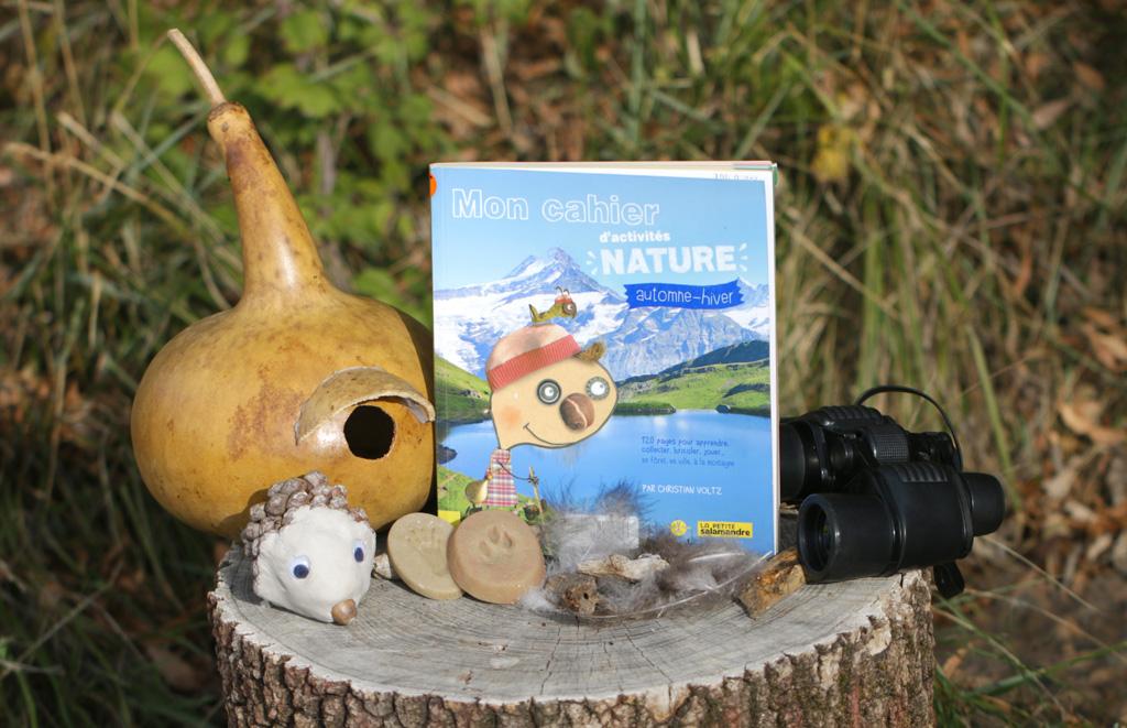 Mon Cahier Dactivités Nature Automne Hiver écolotheque De Montpellier