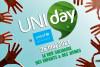 Des mains d'enfants entourent le mot Uniday