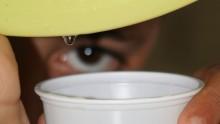 Expérience sur la condensation de l'eau