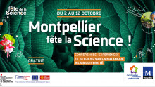 Image illustrant la fête de la science :« Montpellier fête la science »