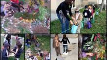 Temps d'actitivités périscolaires sur les sens à Murviel-lès-Montpellier