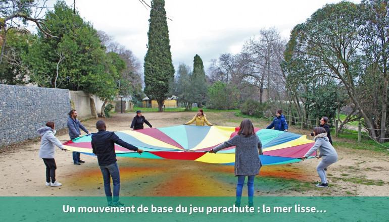 Le jeu du parachute