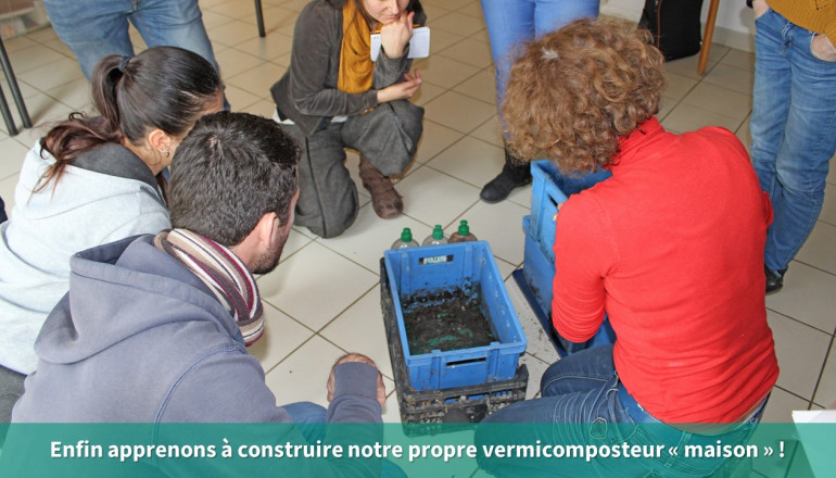Construire son vermicomposteur