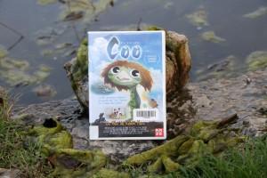 """Jaquette du dvd """"Un été avec Coo"""" au bord de la mare de l'Écolothèque"""