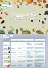 Calendrier des fruits et légumes de saison - Interfel