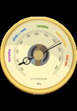 Illustration de baromètre
