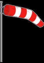 Illustration de manche à air