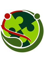 Ilustration de personnages et de pièces de puzzle représentant la communauté mondiale de l'écologie